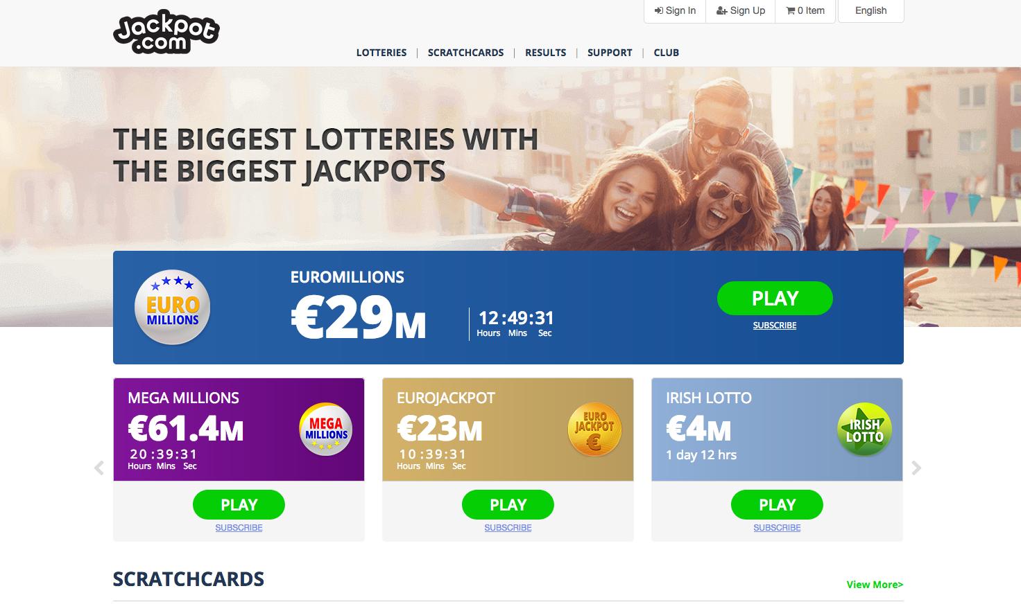 Jackpot com screenshot