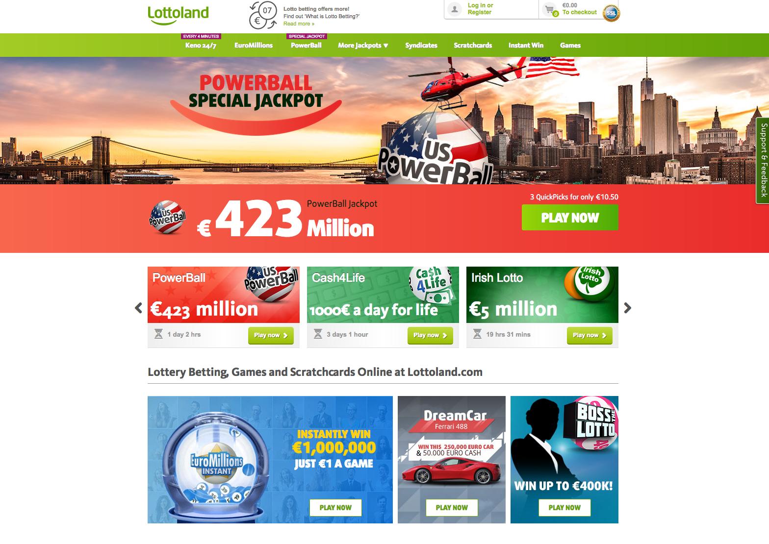 Lottoland Paysafecard