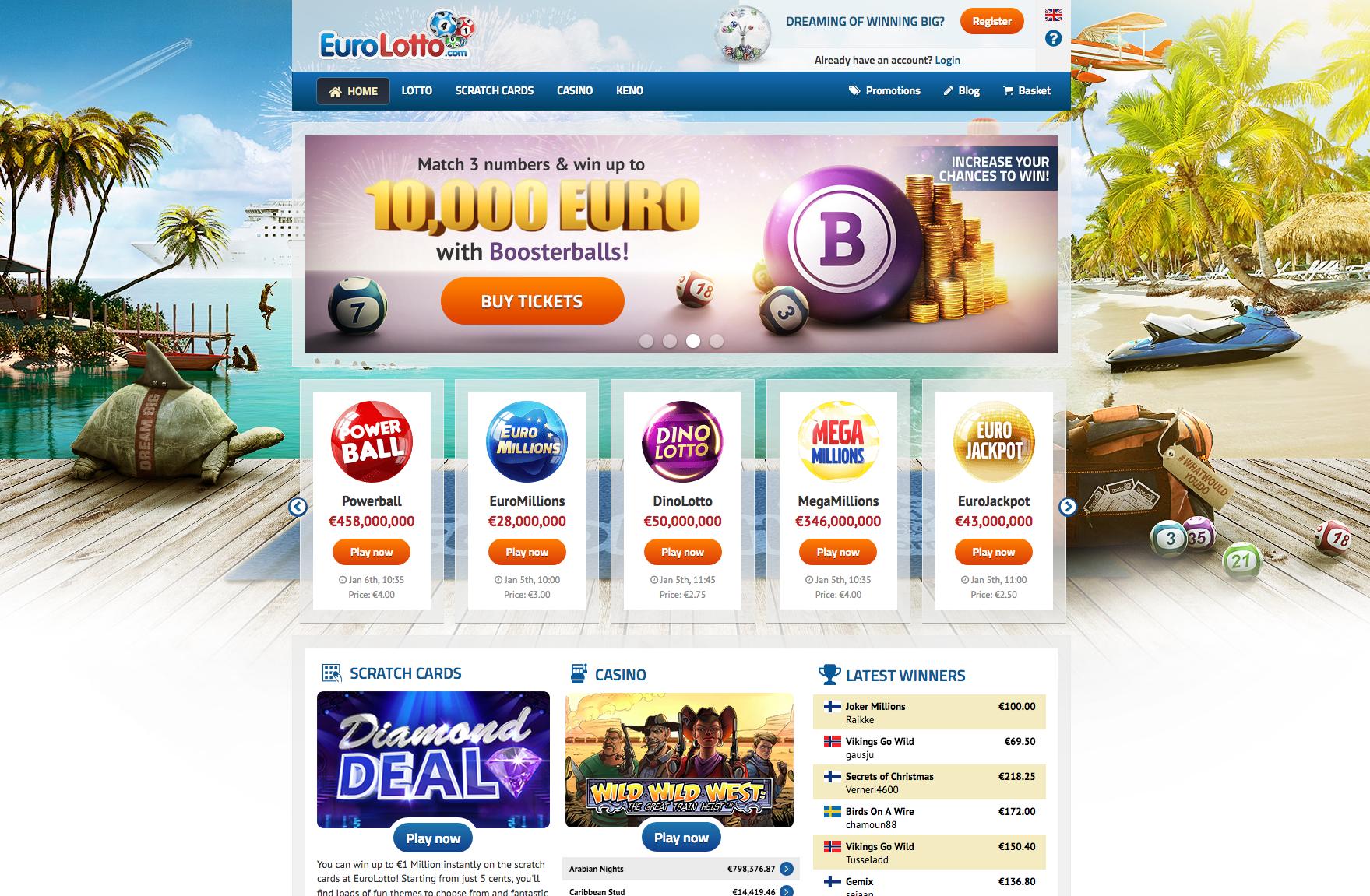 EuroLotto screenshot
