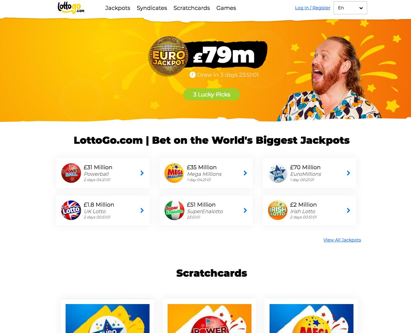 LottoGo screenshots