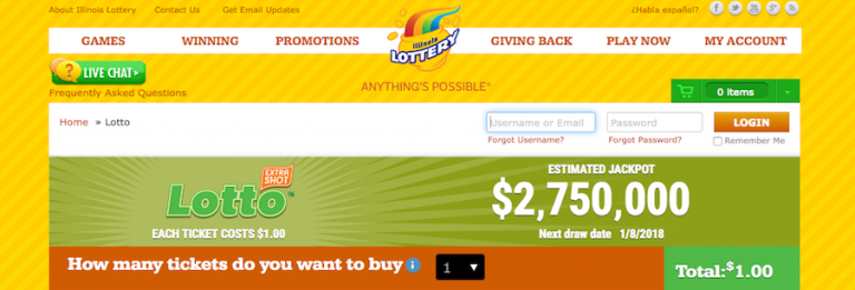 Illinois Lottery Player Wins $18 Million Jackpot Online